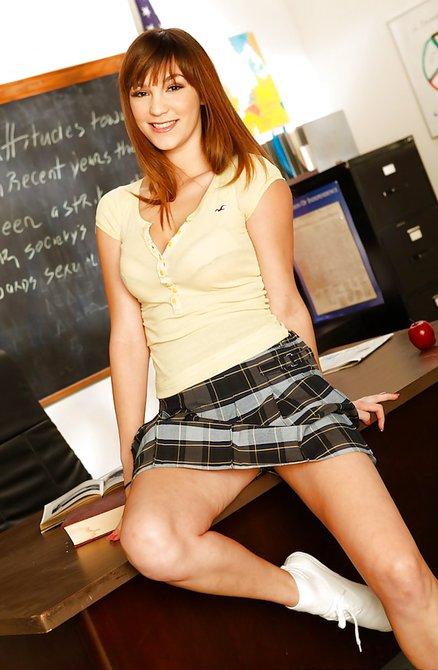 Бритая пися учителя фото