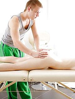 Эротический массаж закончился сексом