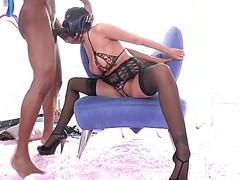 Жесткий садомазо секс от похотливой парочки