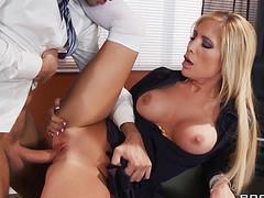 Желанный секс с боссом и супер оргазм