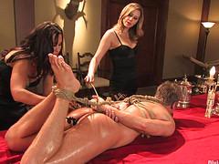 Послушный раб и две госпожи